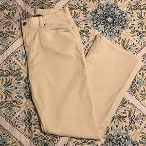 Cream Colored Corduroy Pants